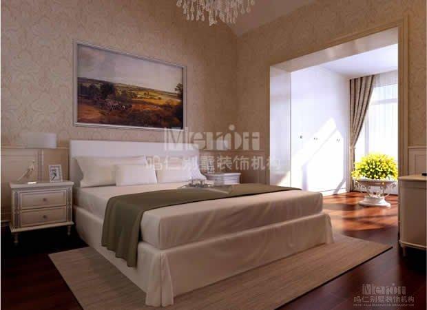 110平方欧式简单装修房子