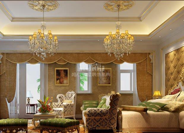 450平御龙湾古典欧式风格装修效果图--仁晟装饰
