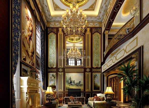 客厅          欧式装修风格脱胎于古典欧式宫廷