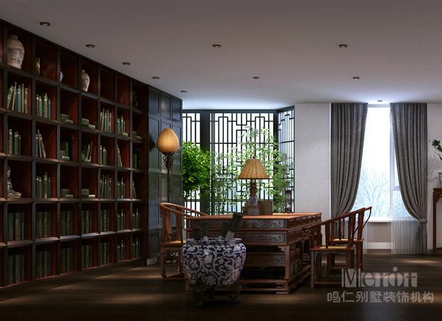 中式书房装修效果图图片