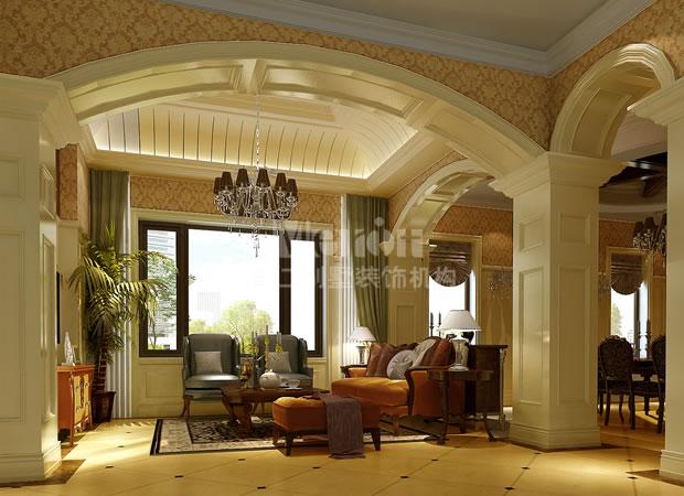 简约欧式家庭室装修效果图