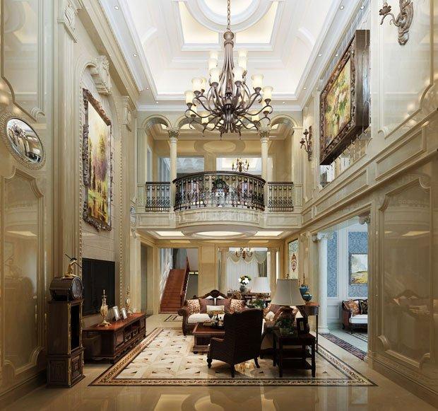 650平米水榭花都欧式新古典别墅设计案例分析