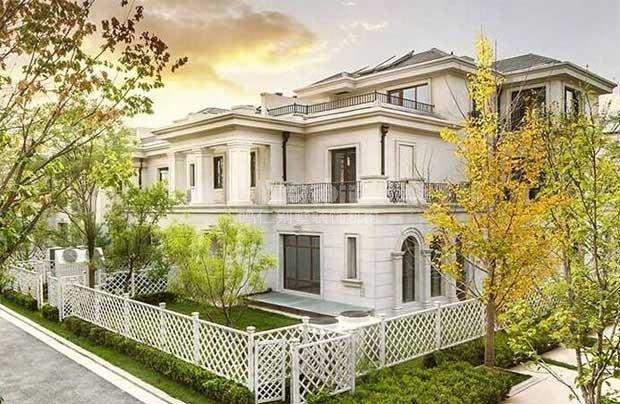 北京五环边的尊享级大型别墅社区.