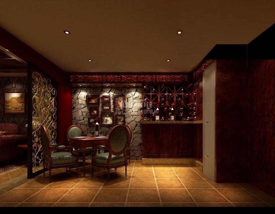 别墅酒吧设计