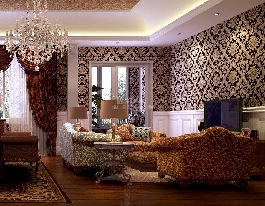 简约欧式起居室装修效果图