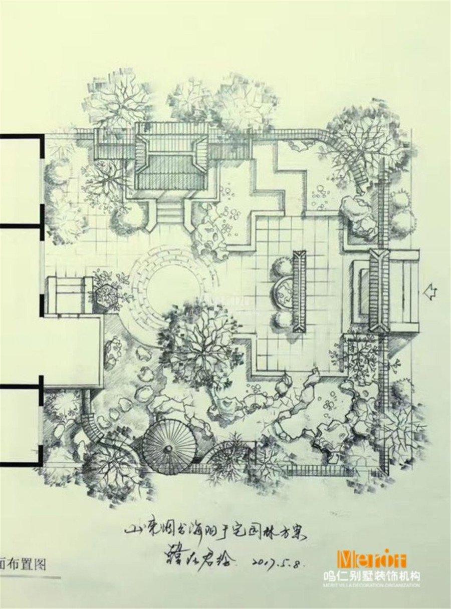 手绘地图中房屋怎么画