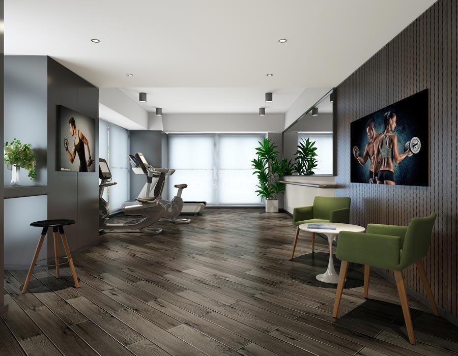 1125平米石家庄日升供热现代风格办公室设计装修效果图