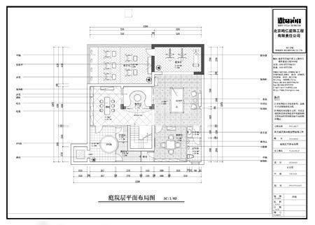 农村房子、院子格局设计图