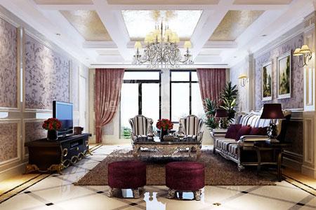 别墅风水设计原则七:客厅不宜阴暗