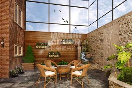 别墅装修之室内绿化设计布局