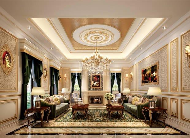562平中海尚湖世家古典欧式风格装修效果图