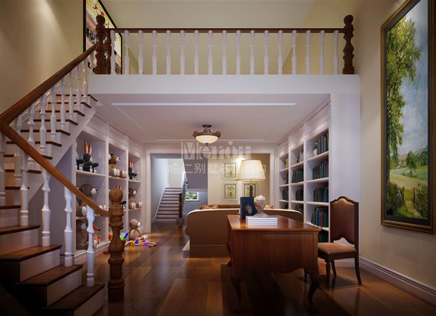 别墅案例 设计案例    家庭休闲区是共享与私属并存的空间代表.