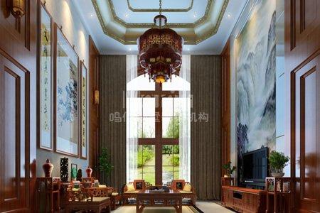 新中式别墅装修设计风格客厅