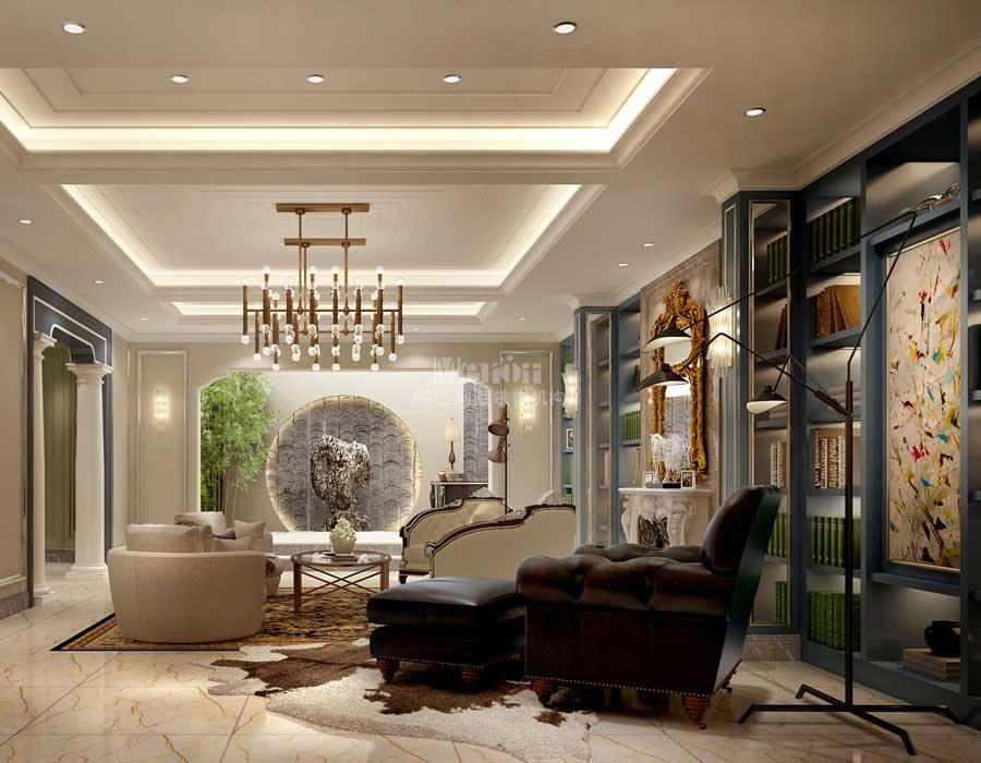 高端地下室装修效果图重庆设计公司别墅别墅图片