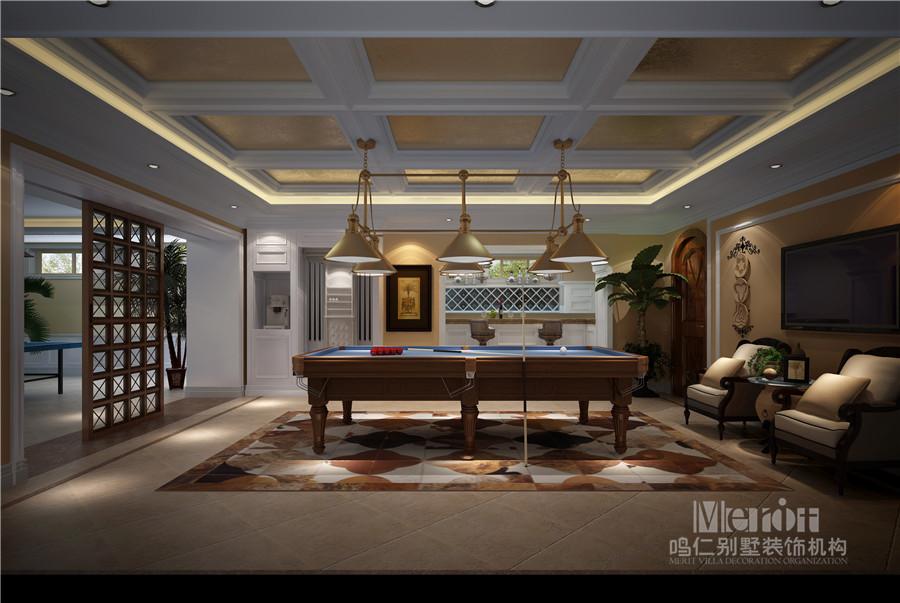 别墅装修之地下室五种设计空间功,你拥有值得!别墅区山东历城济南图片